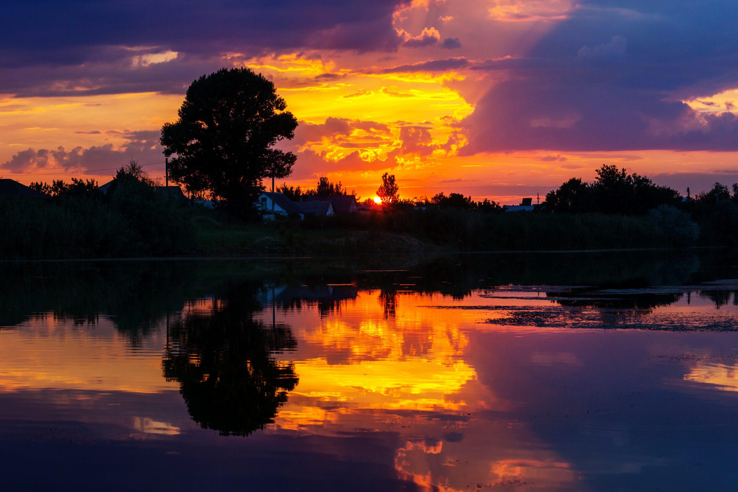 Zonsopgang & zonsondergang