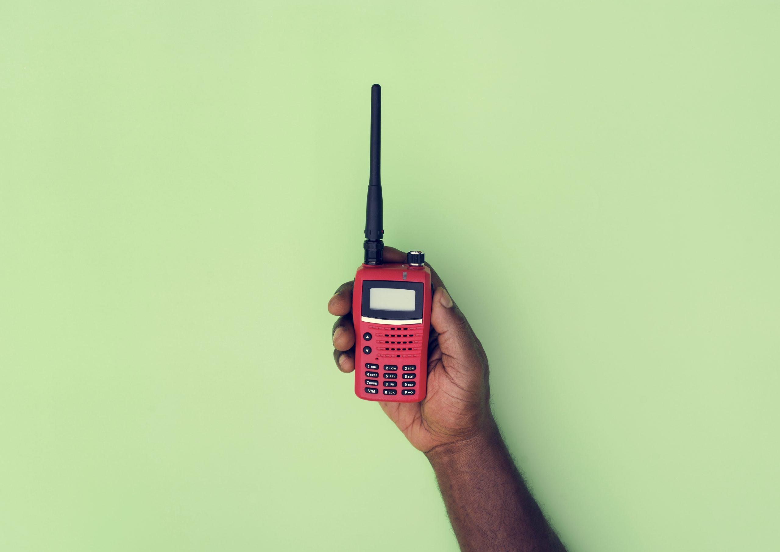 Radiolicentie voor de jacht